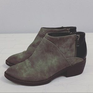 BC Born in California Gray Ankle Booties size 7